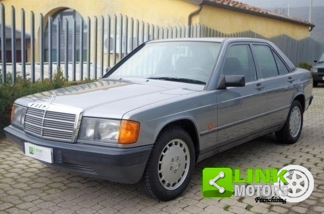 MERCEDES 190 E 2.0 - DOC. ET ASSIETTES ORIGINALES
