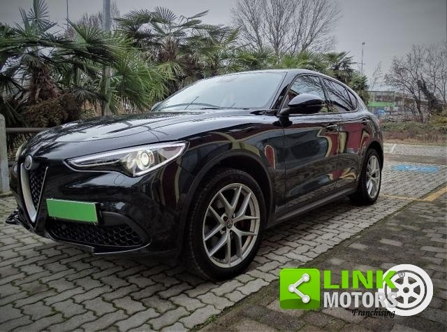ALFA ROMEO - STELVIO - 2.0 TURBO 280CV AT8 Q4 EXECUTIVE - AUTOMATICA - S&S - INTERNI ROSSO ALFA